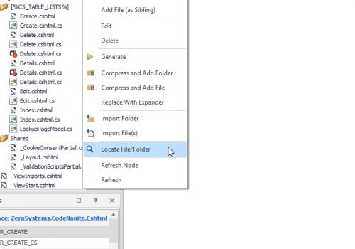 Locate File/Folder